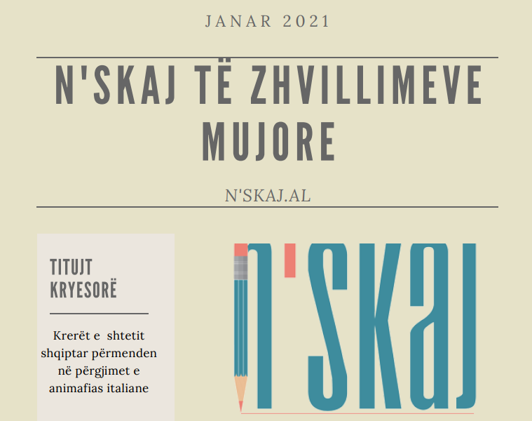 Zhvillimet mujore – janar 2021